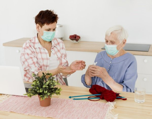 Alzheimer's Caregivers and the Challenges of COVID-19 Prevention